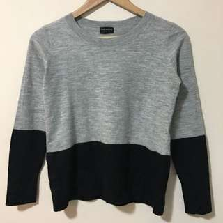 Club Monaco M Long Sleeve Wool Sweater