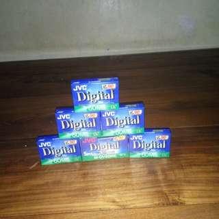 Digital video Cassete (Mini DV)