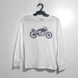(8-10Y) GapKids motor design white top