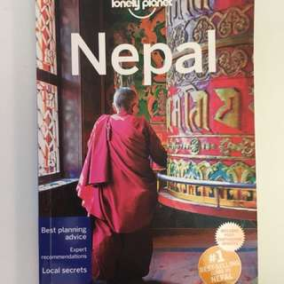 Lonely planet Nepal Guide book