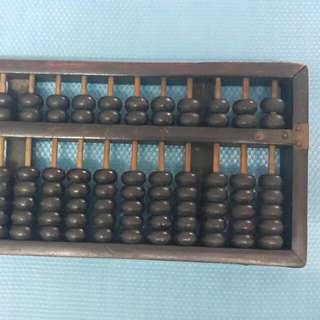 古舊 算盤 舊 算 盤 W-48