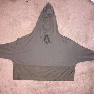 La Senza Crop top hoodie
