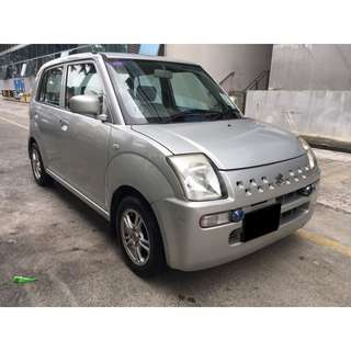 19/01 - 22/01 SUZUKI ALTO MANUAL ONLY $150.00 ( P PLATE WELCOME)