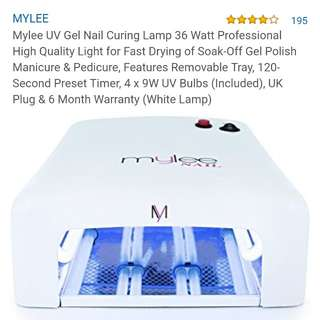Mylee gel nail light 🚦