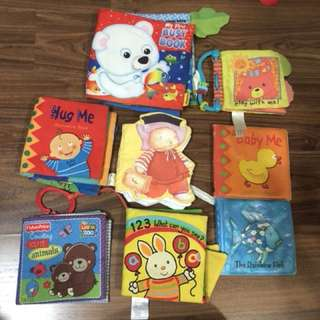 Toddler baby infant cloth books kids intelligence development learning