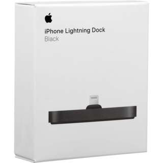 BNIB iPhone Lightnind Dock in Black