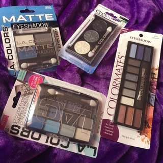 L.A Colors and Colormates Eyeshadow Sets