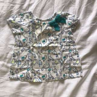 Gymboree baby girl top