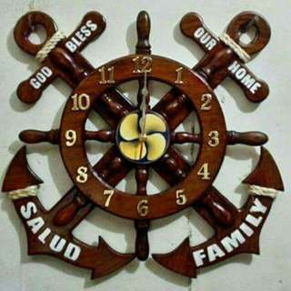 Anchor Wallclock