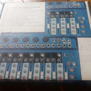 FOR SALE MICKEL MT4-USB professional 4-channel mixing with +48v phantom power.