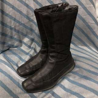 Prada boots leather 36.5 with bag
