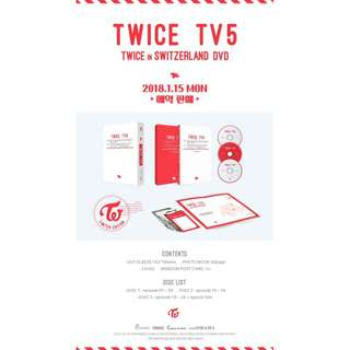 TWICE TV5 OFFICIAL GOODS