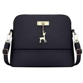 Small Black Body Bag