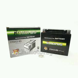 Battery Roker YTX12-BS ER6 Blade250 Versys ZX6 SYM250Evo Shiver 750