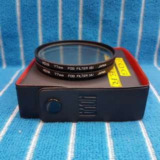 Hoya 77mm fog filter set