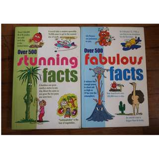Over 500 Facts Books