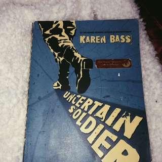 Award-winning Novel: Uncertain Solider