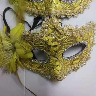 舞會面具 Party mask 2個
