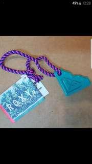 Authentic ROXY Bag Charm/ Keychain
