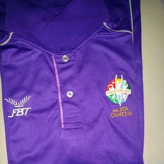 BN Limited edition 2015 SEAGames shirt selling only sgd 10!