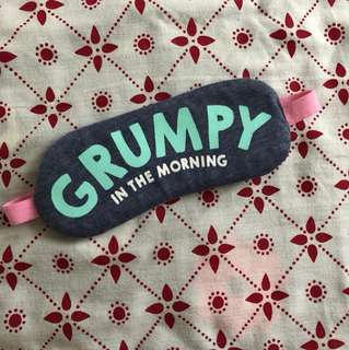 GRUMPY sleep mask
