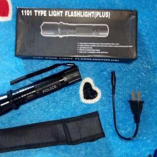 Flashlight with Stun Gun Taser