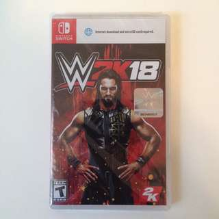 (BN) WWE 2K18 Nintendo Switch