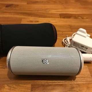 Authentic JBL Flip 2 Portable Bluetooth Speaker - WHITE