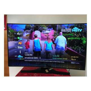 Samsung Curved Smart TV 55' cheap