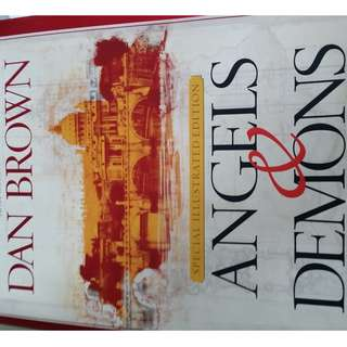 Dan Brown special illustrated edition Angels & Demons (hardcover)