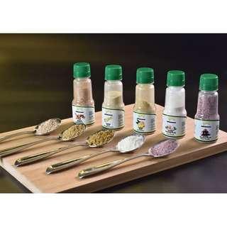 Serbuk Makanan ZaPa / ZaPa's Spices (Serbuk Bawang Merah/Serbuk Bawang Putih/Serbuk Halia/Serbuk Lengkuas/Serbuk Serai)