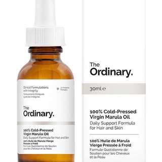 100% Cold-Pressed Virgin Marula Oil