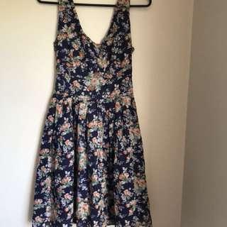 Floral princess highway dress
