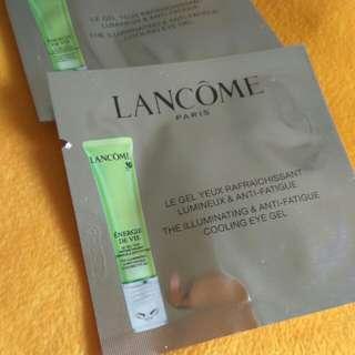Lancome the illuminating & anti fatigue cooling eye gel
