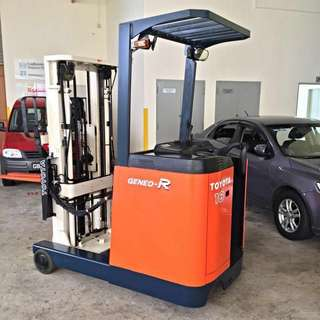 Fully Reconditioned 4.5 Meter Reach Truck