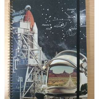 TYPO ASTRONAUT A4 NOTEBOOK
