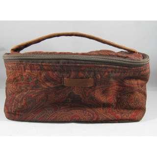 Mini Batik Cosmetic Bag