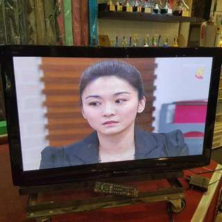"42"" Panasonic Plasma TV with Wall Mount Bracket"