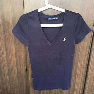 M size (165/92A) Ralph Lauren V shaped T-shirt