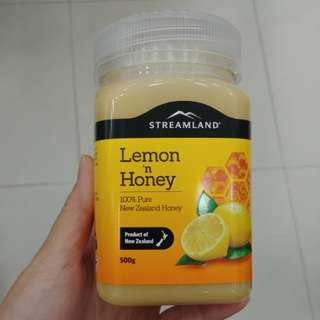 新西蘭Streamland Lemon Honey 檸檬蜂蜜 500g