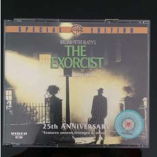 [Exorcist Fans] RARE 25th Anniversary 3 VCDs Set of The Exorcist