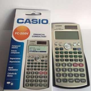 Casio FC-200V 財務計算機