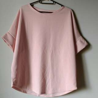 Rose Pink Flowy Top for Plus Size