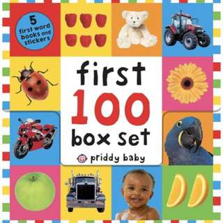 First 100 words box set
