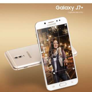 Promo Samsung J7+ diskon 50rb free 1x angsuran