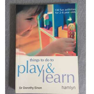 Parenting Book - Play and learn