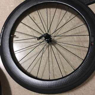 OEM carbon wheelset (zipp 404 profile)