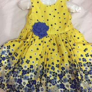 Preloved Mother care dress - baju bayi perempuan