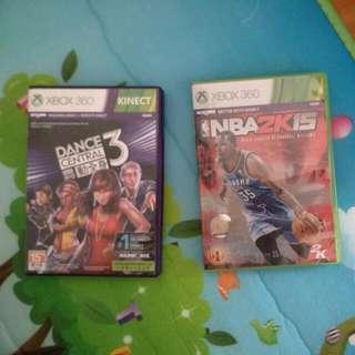 Xbox 360 NBA 2k15 Dance Central