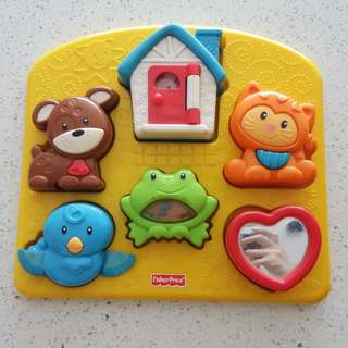 Fisher Price sensory puzzle